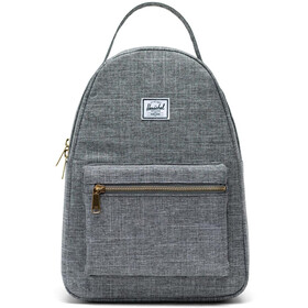 Herschel Nova Small Backpack 17L, raven crosshatch